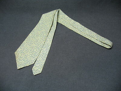 4 1920s? Vintage Ties 44 Inch Handmade? Lot White Blue Dots Diamond Triangle Bow
