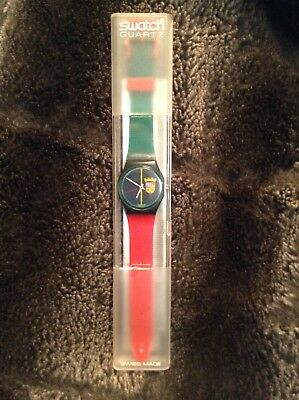 vintage swatch watch coat of arms edition rare limited winter of 1986 edition