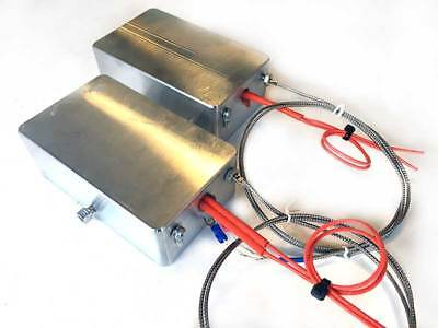 3x5 HEATED DIY Rosin Press Plate KIT for 12 Ton Harbor Freight H-Frame Press
