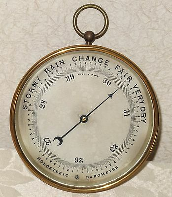 Antique HOLOSTERIC BAROMETER - Marked PHBN - Pertuis Hulot Naudet MADE IN FRANCE