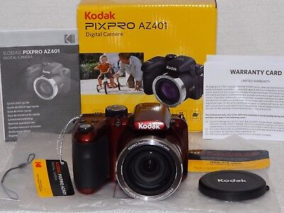 Kodak PIXPRO AZ401 Digital Camera 16 Megapixels 40x Optical Zoom Wide angle NIB