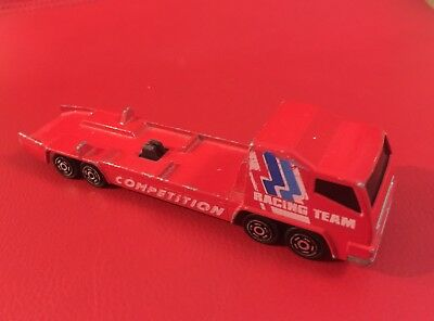 Majorette Racing Team Transporter Scale  1/100 Made In France