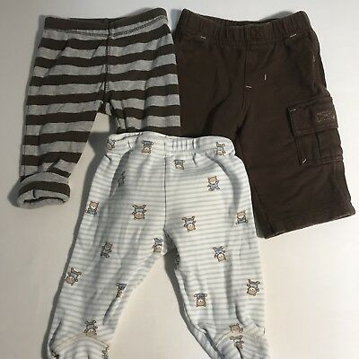 3 Baby/Infant Boys Carter's 3 Month Fall Winter Spring Pants   (B)