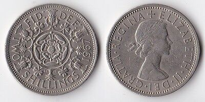 1967 Great Britain florin coin