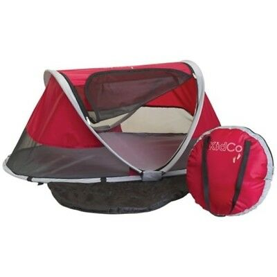 Baby Travel Bed Portable Crib Mesh Covering Lightweight Carry On Sleeping Pad
