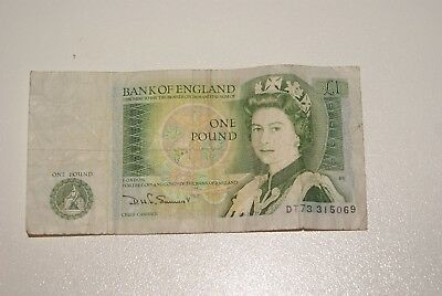 One Pound Bank of England