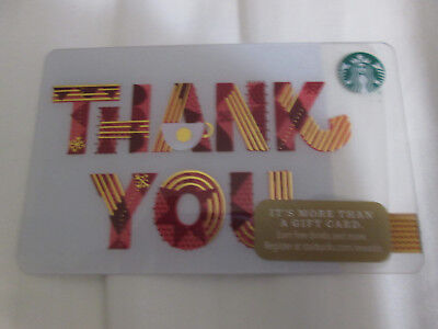 """Lot Of 25 Starbucks Us Gift Card """"holiday Thank You"""" 2017 No Value New"""
