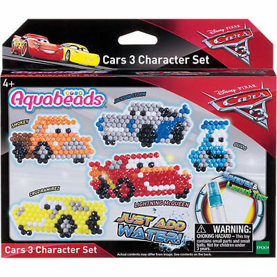 Aquabeads Cars 3D Character Set Tolle Perlenkreationen
