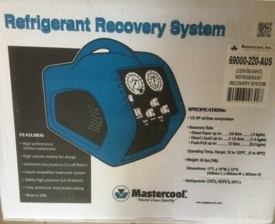 Mastercool 69000-220 Refrigeration Recovery Unit