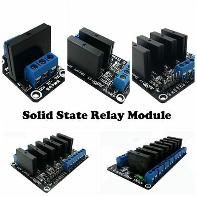 5V 1/2/4/6/8  AC 240V 2A Low Level Relay Module Channel Trigger Solid State