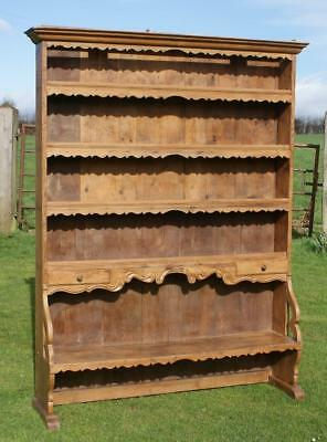 AN IMPOSING  MID 19th CENTURY ANTIQUE FRENCH PINE BUFFET / DRESSER