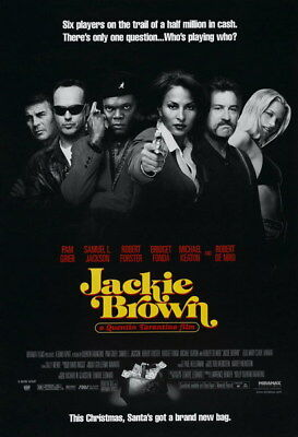 "005 Jackie Brown - Crime Thriller1997 USA Classic Movie 24""x35"" Poster"
