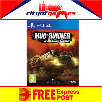 Spintires Mudrunner PS4 Game New & Sealed Free Express Post In Stock Now