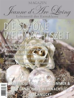 Jeanne d´Arc Living Zeitschrift Magazin 11/ 2017 Shabby Winter November Advent
