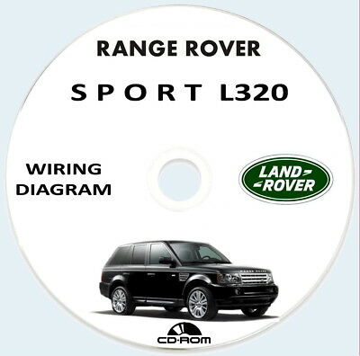 Workshop Manual Wiring Diagram,Range Rover Sport L320