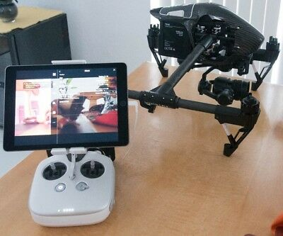 DJI Inspire 1 v2.0 Pro Zenmuse X5 and 6 batteries