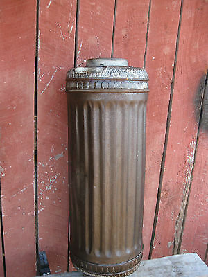 Antique Cast Iron Stove Pipe Heat Exchanger Rare Find