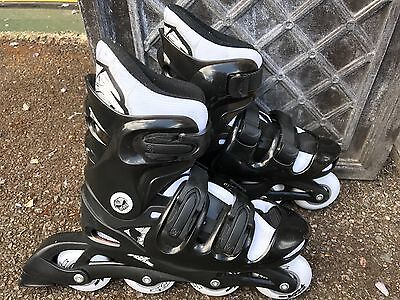No Fear inline skates size 5-8 feet UK - excellent condition, barely used