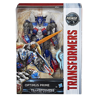 Transformers The Last Knight Premier Edition Voyager Class Optimus Prime Toy NEW
