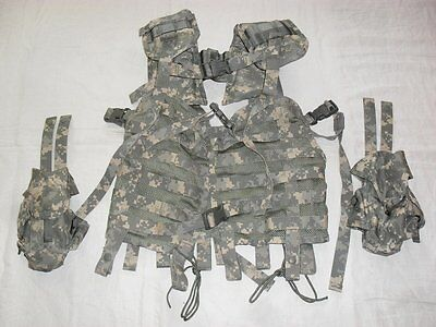 ACU UCP MOLLE II Combat Medical Vest + 2 Pouches, Eagle Industries, US ARMY, NEW