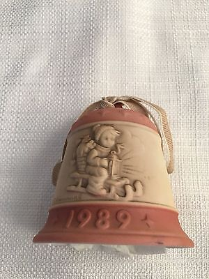 "Collectible Hummel 1989 Bell Pink Excellent Condition, ""bell Series"""
