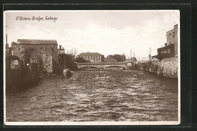 AK Galway, O´Briens Bridge 1928