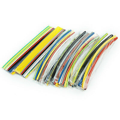 64pcs 8Size Assortment 2:1 Heat Shrink Tubing Tube Sleeving Wrap Wire Cable Kit
