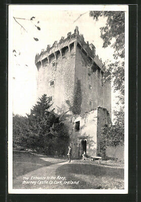 AK Cork, Blarney Castle, Entrance to the Keep 1954