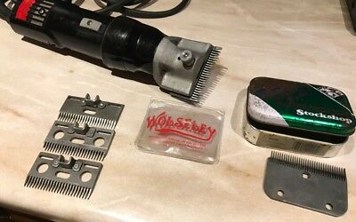 Wolseley Falcon Heavy Duty Horse Clippers Set In Box