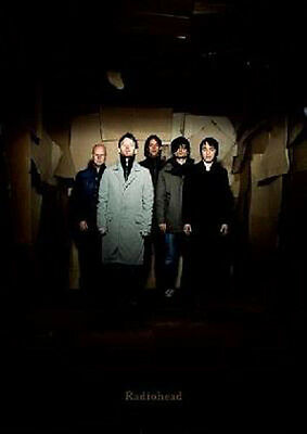 Radiohead in alley Group Photo Portrait Poster Approx 24 x 36 Free US Shipping