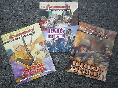 1710 Three Commando And Nine War Picture Library Comics-Collectable-Value!!