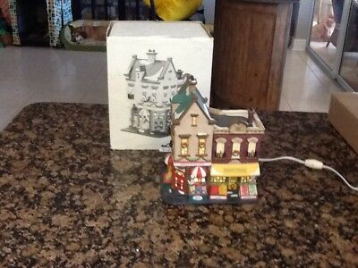 Dept 56 Christmas in the City, Johnson's Grocery and Deli #58886, Heritage Vill