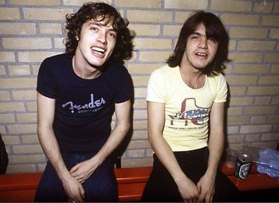 Malcolm Young and AC/DC band pics