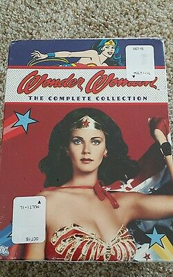 Wonder Woman The Complete Collection DVD Box Set Lynda Carter 2007