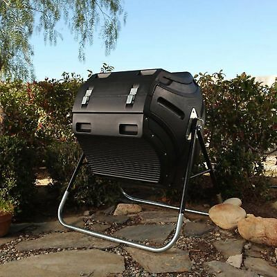 LIFETIME 300L Compost Tumbler, CHEAPEST ON EBAY!, Made in USA, 5 Year Warranty