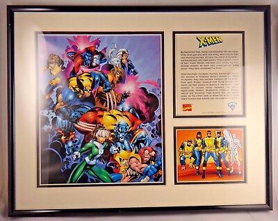 X-Men Wolverine Framed Toon Art Limited Edition with COA