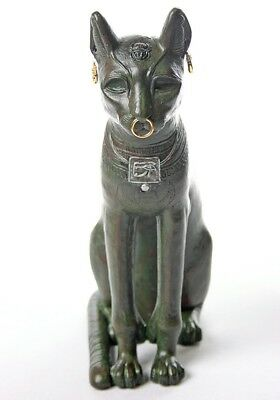 Bastet Egyptian Cat Statue Gayer-Anderson Museum Replica Parastone EG01