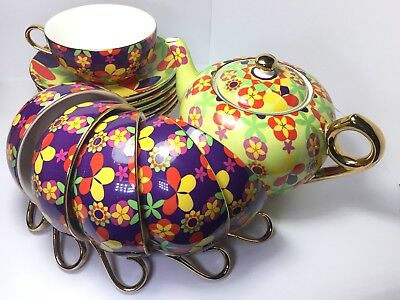 T2 tea cup and saucer set with T2 gift wrap