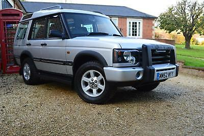 02 52 Land Rover Discovery 2.5Td5 Gs 7 Seater Only 46000 Miles Fsh New Mot