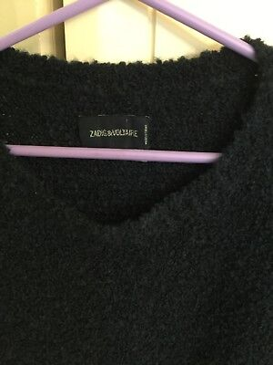 womens  zadig & voltaire sweater size large