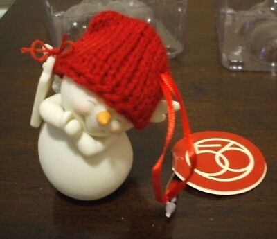 Dept 56 Snowpinions Naughty Or Nice New In Box Porcelain Ornament