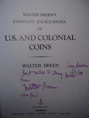 Walter Breen's Complete Encyclopedia Of U.s. And Colonial Coins Free Shipping