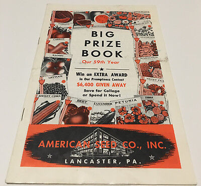 American Seed Co. Big Prize Book -1977 - 30 pages