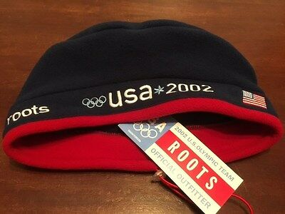 2002 Olympics Beret/Beanie Collectable - USA Olympic Team by Roots NWT.