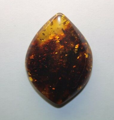 The Genuine Stone of Baltic Raw Amber, polished! (D330)