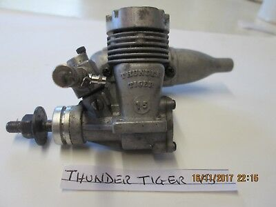 Thunder Tiger 15. Model glowplug  engine