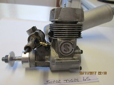 Super Tigre 45 Model glowplug  engine