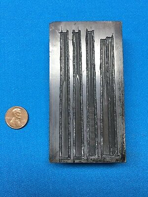 Antique Billiard's Pool Table Cue Printer's Letterpress Type Block Old