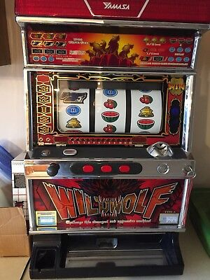 Wild Wolf Quarter Slot Machine *PERFECT CONDITION*