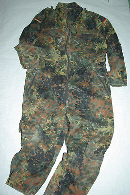 BW. Military Camouflage Overall Pilot Outfit Vintage 90er Jahre Gr:9 / 52  TOP